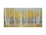 Golden Birch Panel
