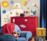 Outer Space Peel & Stick Wall Decals