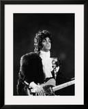 Prince Plays Guitar During Concert  1984