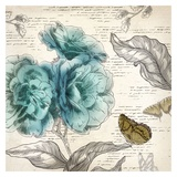 Blooming Teal II - Mini