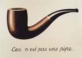 La Trahison des Images Reproduction d'art par Rene Magritte
