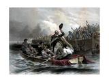 Digitally Restored American History Print of General George Washington