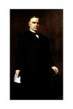 Digitally Restored Presidential Painting of President William Mckinley