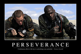 Perseverance: Inspirational Quote and Motivational Poster