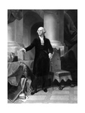 Vintage American History Print of President George Washington
