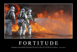 Fortitude: Inspirational Quote and Motivational Poster