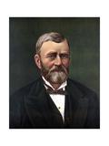 Digitally Restored Color Portrait of President Ulysses S Grant