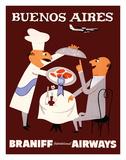 Buenos Aires - Braniff International Airways