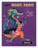 Hong Kong - Qantas Airways - Chinese Treasure Dragon