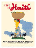 Come to Haiti - Pan American World Airways