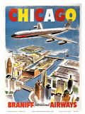 Chicago - Braniff International Airways
