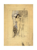 Preliminary Drawing for Allegory of Sculpture