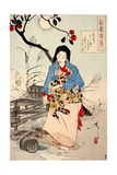 Lady Chiyo  One Hundred Aspects of the Moon