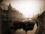 La Conciergerie et la Seine  Brouillard en Hiver  1923
