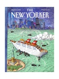 The New Yorker Cover - April 9  1990