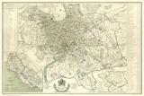 Landmarks of Rome Reproduction d'art par Felix Benoist