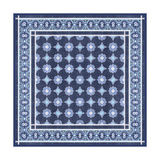 Italian Mosaic in Blue II