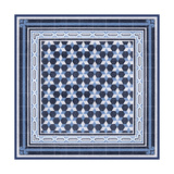 Italian Mosaic in Blue III