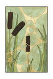 Tranquil Cattails I