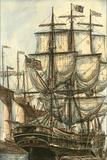 Printed Majestic Ship I