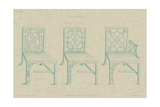 Chinese Chippendale Chairs I