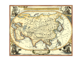 Nautical Map of Asia