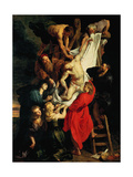The Descent from the Cross Central Panel  1612-1614