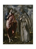 Saint John the Evangelist and Saint Francis of Assisi  C 1600