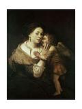 Venus and Love 17th Century Paris  Musée Du Louvre