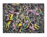 Unformed Figure, 1953  Reproduction d'art par Jackson Pollock