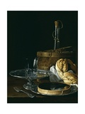Still Life with Box of Jellied Fruit  Bread  Silver Salver  Glass  and Wine Cooler  1770