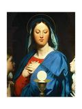 The Virgin Mary Prays to the Host  1866