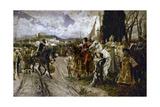 The Surrender of Granada in 1492