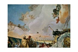 Throne Room: the Glory of Spain  Allegory of Africa  1762-1766