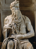 Tomb of Giulio II: Moses  by Buonarroti Michelangelo  1513  16th Century  Marble