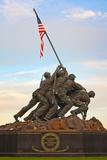 The Marine Corps War Memorial  also Called the Iwo Jima Memorial