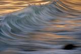 Waves in the Sea of Cortez Near La Paz Papier Photo par Michael Melford