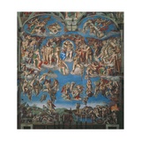 Sistine Chapel  the Last Judgment (Entire View)