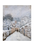 Snow in Louveciennes