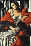 Portrait of Mrs Boucard Giclée par Tamara De Lempicka