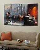 Chambre avec vue I Toile Murale Géante par Willem Haenraets