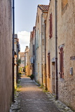The Narrow Streets of Monpazier  One of the Beaux Villages De France  Dordogne  France  Europe