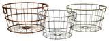 Leicester Metal Basket Set