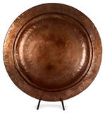 Toluca Copper-Plated Charger with Stand