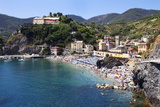 The Old Town Beach at Monterosso Al Mare from the Cinque Terre Coastal Path