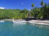 Beach at Anse Chastenet  St Lucia  Caribbean