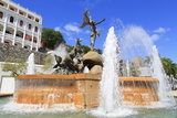 La Princesa Fountain in Old San Juan  Puerto Rico  Caribbean