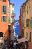 Villefranche-Sur-Mer  Alpes Maritimes  Provence  Cote D'Azur  French Riviera  France  Europe