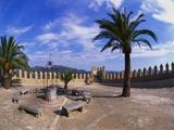 Church Courtyard  Arta  Mallorca  Spain