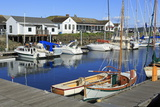 Marina in Port Townsend  Puget Sound  Washington State  United States of America  North America